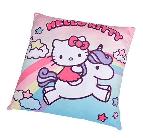 Simba 109281008 Hello Kitty Einhorn Plüschkissen, 35cm