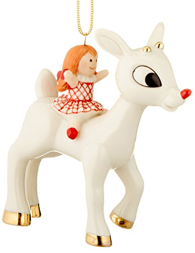 Lenox Rudolph and The Misfit Doll Ornament