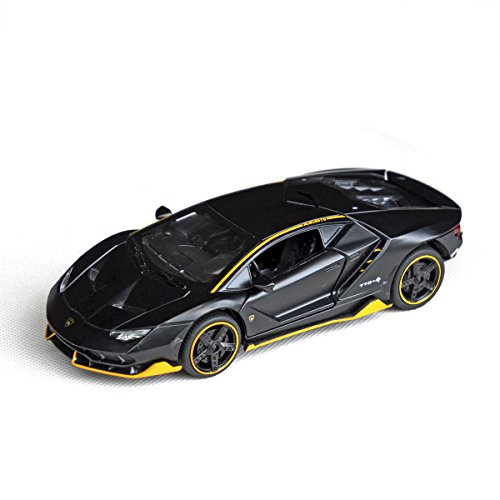 Tianmei 1:32 Supercar Kids Toys Die-Cast Alloy Metal Car Model Collection Children Play Vehicle (LBJN - Black)