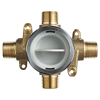 American Standard RU101 Flash Shower Rough-in Valve with Universal Inlets and Outlets, Unfinished
