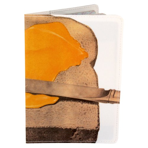 Brot und Butter, Toast & Jam Travel Passport holder [Apparel]