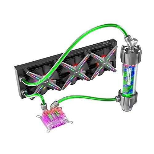 Pad de enfriamiento portátil Caja De PC DIY Agua Conoling 360 Mm Ajustable RGB ASUS Sincronización Gigabyte RGB Fusion Support LGA 115X / AM2 / AM3 / AM4 para portátil