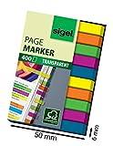 SIGEL HN617 Mini-Haftmarker Textstreifen Index, 1er Pack (400 extra schmale Streifen...