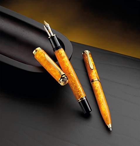 Pluma estilográfica M600 Vibrante Naranja, Pluma M