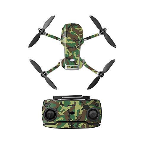 Linguhang Drone Decalcomania Impermeabile AntiGraffio di Protezione Guardia Skin Guard per DJI Mavic Mini / Mini SE Accessori (Tipo 4)