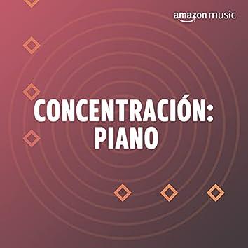 Concentración: Piano