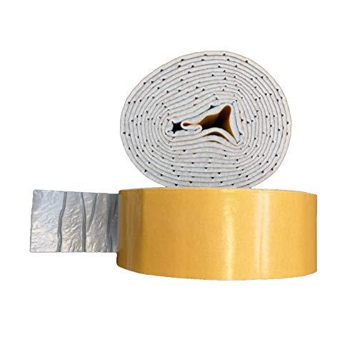 Vlies Wickelstreifen 70mm x 5m selbstklebend mit Dampfsperre Isolierstreifen