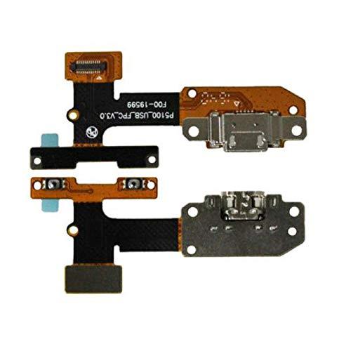 iReplaceParts YT3-X50F P5100 - Conector de carga para Lenovo Yoga Tab 3, puerto de carga