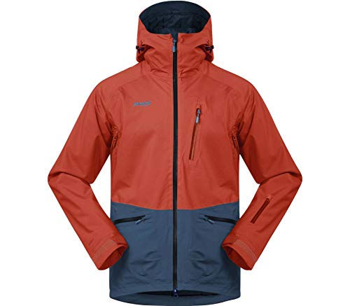 Bergans Myrkdalen Insulated Jacket Men - Warme Wintersportjacke mit Schneefang