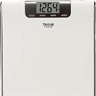 Taylor Lithium Digital Electronic bathroom Scale with Memory 180KG ABS Wide Platform