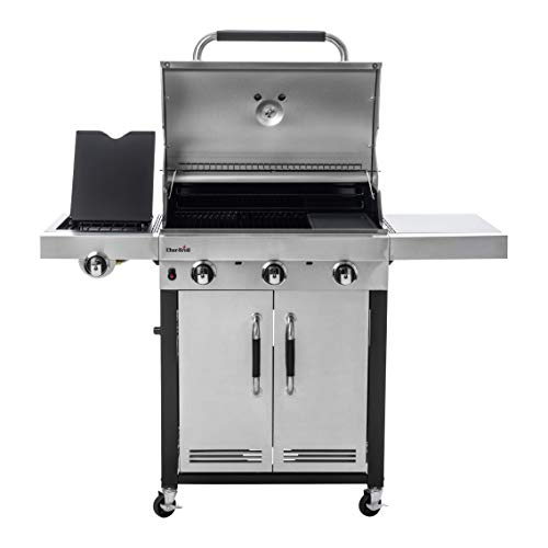 Char-Broil Advantage Series 345S - 3 Burner Gas Barbecue Grill with TRU-Infrared Technology, Stainless Steel Finish