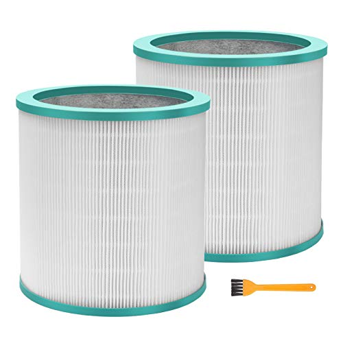 Smilyan 2 Pack Air Purifier Replacement Filter for Dyson Tower Purifier Pure Cool Link TP01 TP02 TP03 BP01, Compare to Part 968126-03