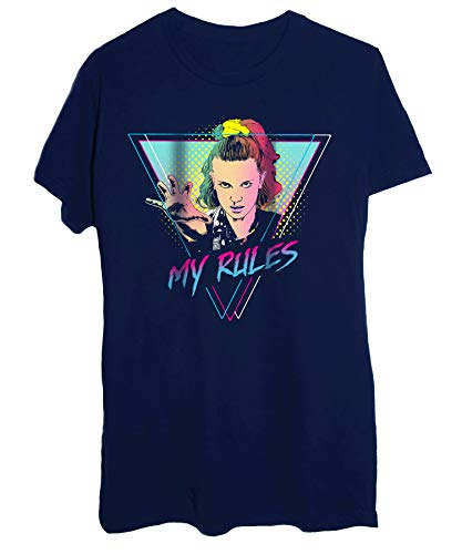 "T-Shirt Stranger Things 3 Undici Eleven "" Le Mie Regole "" 80'S Style – Film & Serie"