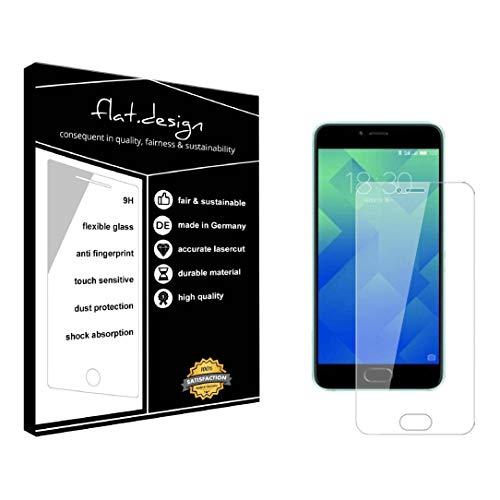 1x Bildschirm Schutz für Meizu M5 Note Screen Bildschirmschutz Schutzfolie kristallklar Flexible Folie, robust wie Glas. Qualität, Nachhaltigkeit und Fairness Made in Germany