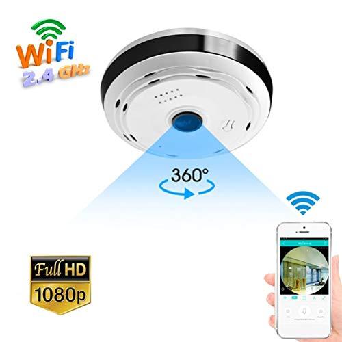 Macabolo 360 Grad Panorama Weitwinkel Mini Kamera Smart IP Kamera Wireless Fisheye Lens Security Home WiFi IP Kamera