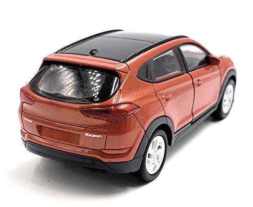 Onlineworld2013 Tucson SUV Orange Modellauto Auto Maßstab 1:34 (lizensiert)