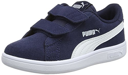 Puma Puma Smash v2 SD V PS, Sneakers Basses mixte enfant -...