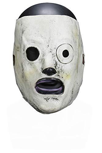 tianxinxishop Unisexe Masque de Latex de Heavy Metal Band Masque de Cosplay Corey Taylor 58~62cm