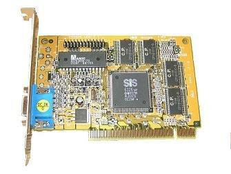 8MB Grafikkarte VGA SIS 6326H0