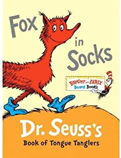[ [ [ Fox in Socks: Dr. Seuss's Book of Tongue Tanglers[ FOX IN SOCKS: DR. SEUSS'S BOOK OF TONGUE TANGLERS ] By Dr Seuss ( Author )Dec-27-2011 Hardcover