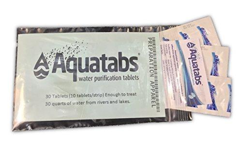 Aquatab Aquatabs, 30pk