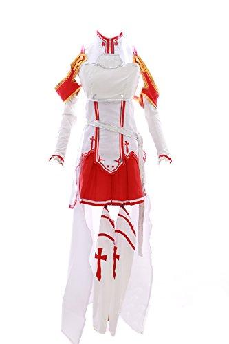 Kawaii-Story MN-14 - Disfraz de Asuna Sword Art Online SAO (vestido de anime manga para cosplay)
