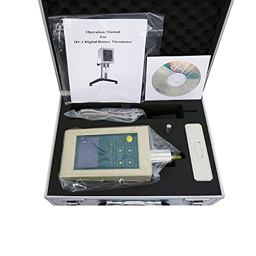 New DV-1 Digital Rotary Viscometer Range 10-2000000mPa.s with Temperature Testing Can Connect to PC