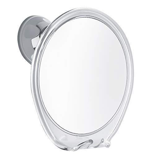 PROBEAUTIFY Fogless Shower Mirror for Shaving | Razor Hook Holder, 360 Degree Rotation, Suction Cup to Bathroom Wall, Fog Free Glass | Men & Women