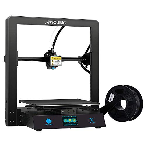 ANYCUBIC MEGA X FDM 3D Printer Kit with Resume Print and Free 1kg PLA Filament, DIY Printer Works with TPU/PLA/ABS, Print Size 11.8(L) x 11.8(W) x 12.0(H) inches