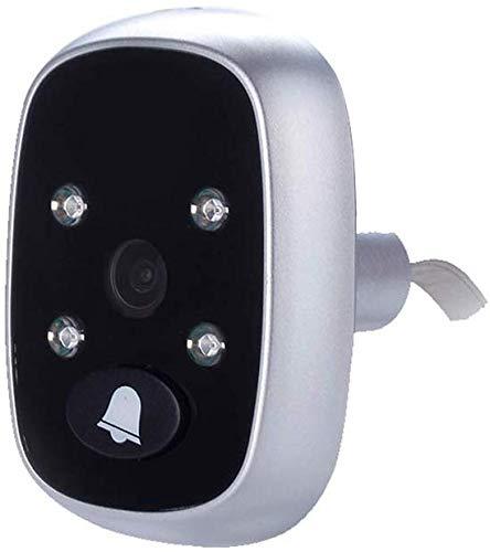 Interphone vidéo sonnette sans fil, vision nocturne surveillance à domicile 3,5 pouces, bague détection mouvement, enregistrement d'interphone visuel HD intelligent, portier vidéo à distance à faib
