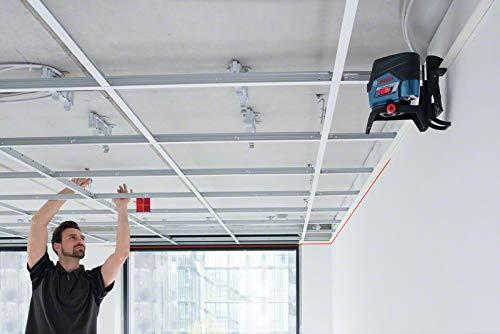 Bosch Professional Kreuzlinienlaser GCL 2-50 (5x AA Batterien, Arbeitsbereich: 50m, im Handwerkerkoffer) - 6
