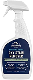 Rocco & Roxie Oxy Stain Remover - Tackles The Toughest Stains with The Cleaning Power of Oxygen - Pet Stains, Blood, Wine All Disappear - Leaves Carpets, Upholstery, and Laundry Clean & Fresh