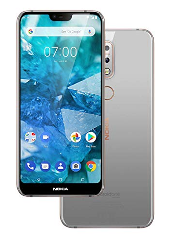 Nokia 7.1 Dual SIM 64 Go 4 Go RAM TA-1085 Gloss Steel Gris (Asian Version)