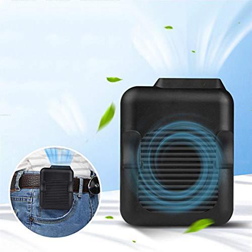 POWM Fans HäNgender Taillenventilator HäNgender Halsventilator USB Aufladen Tragbarer Taillen HäNgender KlimaanlagenküHler KlimageräT Mobil Klimaanlage,M