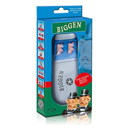 Biggen - Dobbelspel - Het geluksspel met varkentjes - Voor de hele familie - Taal: Nederlands