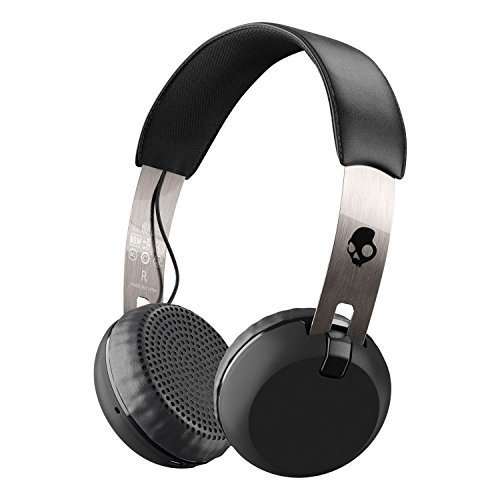 Skullcandy Grind Bluetooth Wireless On-Ear Headphones - Black/Chrome