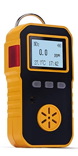 BOSEAN二酸化窒素測定器 NO2検出器 NO2検知器 NO2濃度測定 ポータブルガス測定器 ガス漏れ検知 音 光 振動アラーム IP65 高精度 携帯用 USB充電