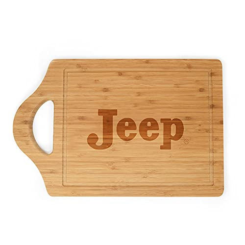 Jeep Retro Logo Laser Engraved Cutting Board