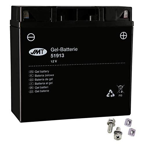 Batteria gel 51913 per R 80 G/S Monolever anno di costruzione 1980-1987 di JMT