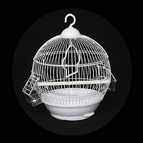 Kit Gabbia per Uccelli da Volo Gabbia per Uccelli Animali Domestici Bingo Bird Iron Gabbie Pappagallo Casa Canarino Birdcage Outdoor Aracaw Cockatoo Parrocchetto Conure Finch Travel Birds Nest Gabbie