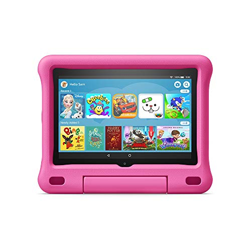 All-new Fire HD 8 Kids Edition tablet | 8' HD display, 32 GB, Pink Kid-Proof Case
