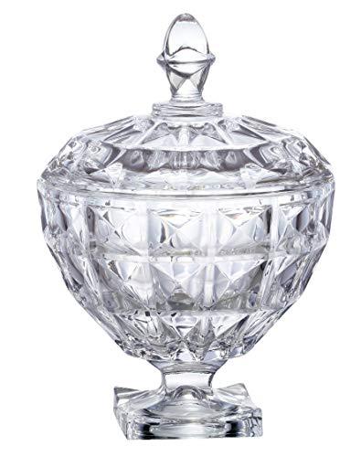 Bomboniere Aquamarine Com Pe Em Cristal Ecologico D11, 5xa18cm Transparente L'hermitage Multicor No Voltagev