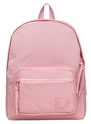 HotStyle MOREPURE 225s Small Backpack for Women & Girls, Plain Bookbag Purse Cute for Work Travel Everyday, Medium Aqua