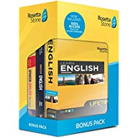 Rosetta Stone Learn English and Unlimited Languages with Lifetime Access