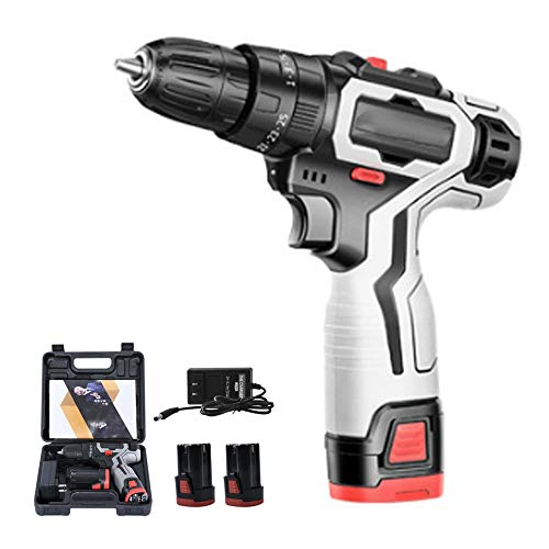fang zhou Cordless Impact Wrench Brushless Motor 18V Electric Driver with Power Display and LED Lighting, High Torque Kit for Home and DIY Project