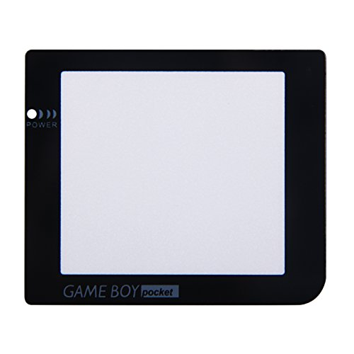 Timorn Glass Replacement Screen Protector Faceplate Lens Shell with lamp Hole for Game Boy Pocket GBP (20x Screen Lens)