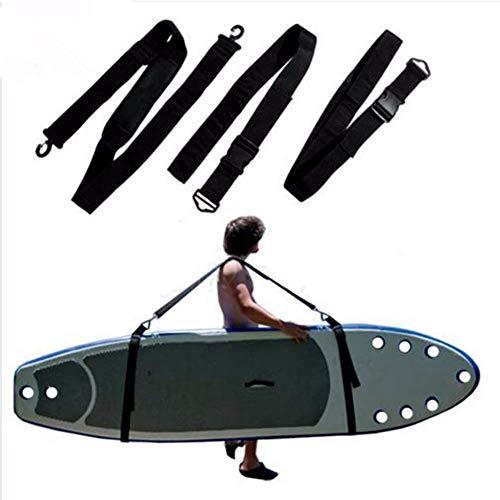HilMe Tabla de Surf Hombro Correa, Ajustable Paleta Tabla Correa Kayaks Canoa Llevar Correa para Tabla de Surf Paleta Tabla Kayak - como Imagen Mostrar, Os12568