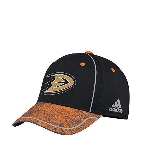 adidas Gorras Anaheim Ducks Alpha Black/Orange Flexfit