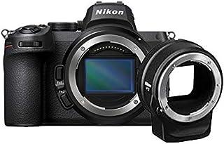 Nikon Z 5 Spiegellose Vollformat Kamera mit Nikon FTZ Adapter (24,3 MP, Hybrid AF mit 273 Messfeldern und Fokus Assistent, 5 Achsen Bildstabilisator, 4K UHD Video, doppeltes Speicherkartenfach)
