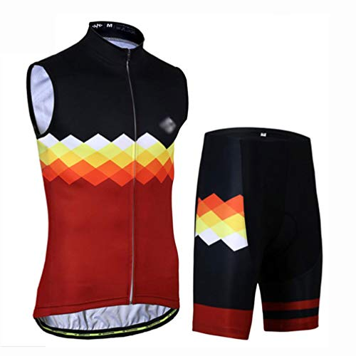 Maillot Ciclismo Hombre Ropa Ciclismo Y Culotte Pantalones Hombre Equipación Ciclismo Hombre...